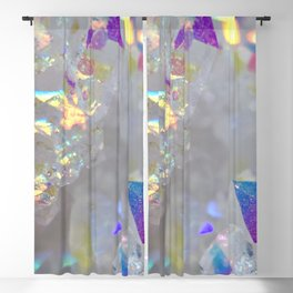 Aurora Borealis Crystals Blackout Curtain