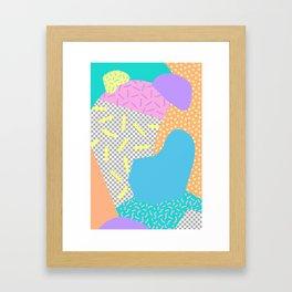 New Wave Series No. 2 Framed Art Print