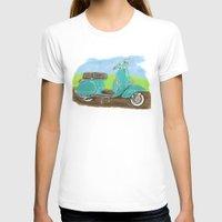 vespa T-shirts featuring Vespa by JasonKoons