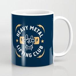 Heavy Metal Lifting Club (Yellow) Coffee Mug