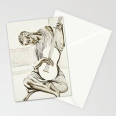 The New Old Guitarist Stationery Cards