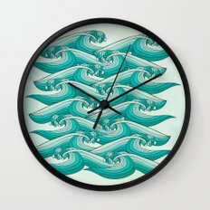 Ocean Vibes Wall Clock