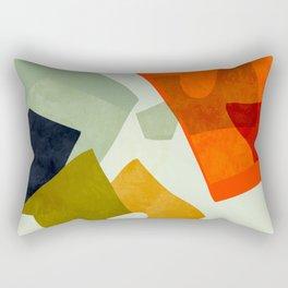 bric a brac mid century III Rectangular Pillow