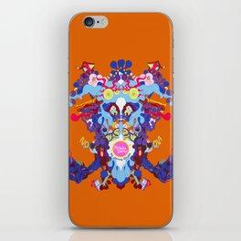 Toon Rorschach I iPhone Skin