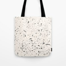 Retro Speckle Print - Bone Tote Bag