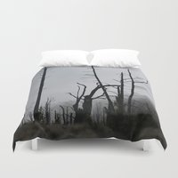 death Duvet Covers featuring Death by Hunter J.