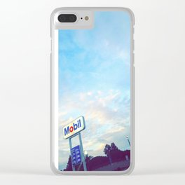 California Gas Stations Clear iPhone Case