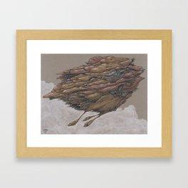Sky Weight 4 Framed Art Print