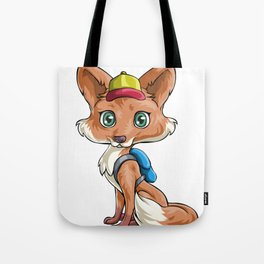Fox Back to School Kids Pre-School Elementary Tote Bag