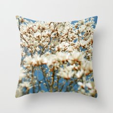 Holding My Breath Throw Pillow
