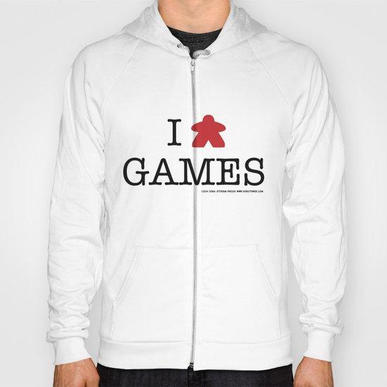 I Meeple Games Hoody