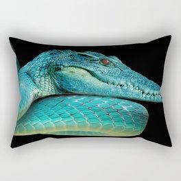 Snakodrile / Culedrilo Rectangular Pillow