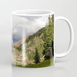 Red Mountain Pass, elevation 11,018 feet, on the Million Dollar Highway Coffee Mug