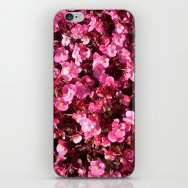 Pink Flower Power iPhone Skin