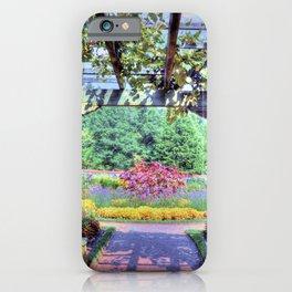 Grape Arbor iPhone Case