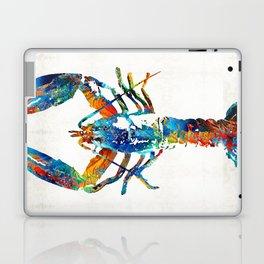 Colorful Lobster Art by Sharon Cummings Laptop & iPad Skin