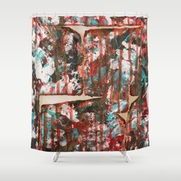 punchy Shower Curtain