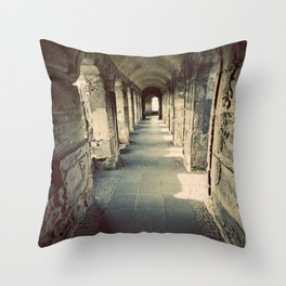 Going the Distance Throw Pillow
