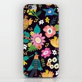 The floral floresta iPhone Skin