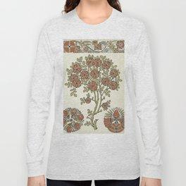 Ornate tree pattern Long Sleeve T-shirt