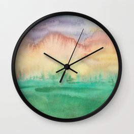 Sunrise Playtime Wall Clock