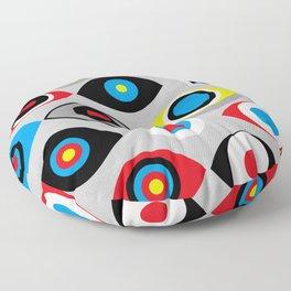 Eye on the Target Floor Pillow