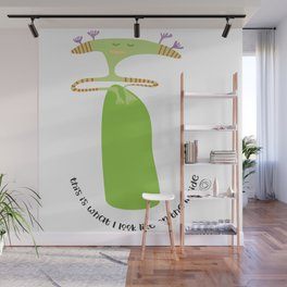 on the inside : chilling out Wall Mural