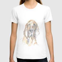 Bloodhound portrait T-shirt