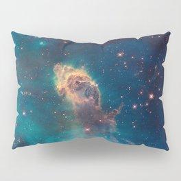 Stellar Jet in the Carina Nebula Pillow Sham