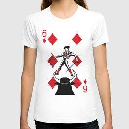 Curator Deck: The 6 of Diamonds T-shirt