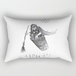 Baba Yaga Rectangular Pillow