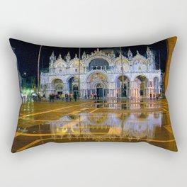 Italy. Venice at night Rectangular Pillow