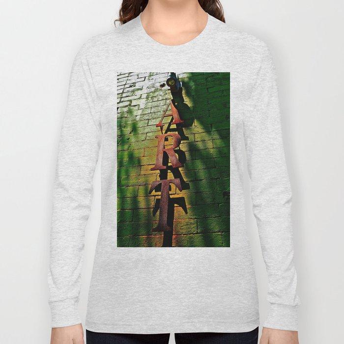 Art on Bricks Long Sleeve T-shirt
