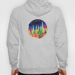 Cosmic Cactus - saguaro Hoody