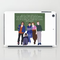 the breakfast club iPad Cases featuring The Breakfast Club by Christina