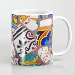 Gaudi tiles Barcelona Coffee Mug