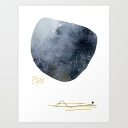 There is Gold In the System Art Print