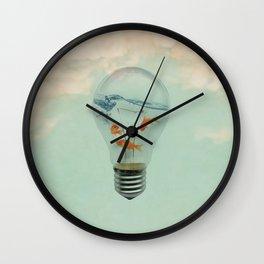 Ideas and Goldfish (RM) Wall Clock