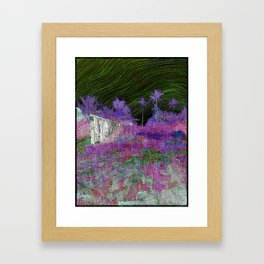 Help from the Satellite Framed Art Print