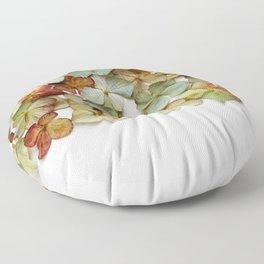 Hydrangea Petals no. 2 Floor Pillow