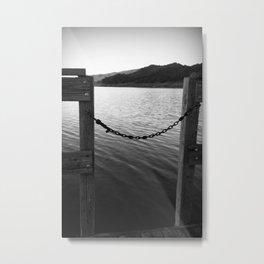 WHITE&BLACK Metal Print
