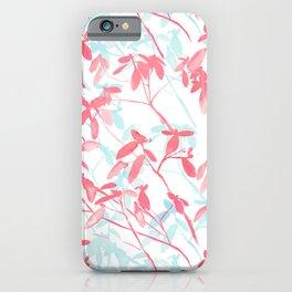 Premonition (Coral Mint) iPhone Case