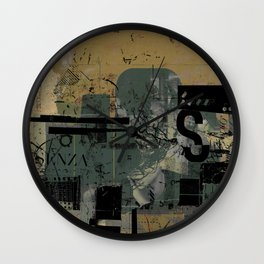misprint 58 Wall Clock