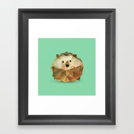 Hedgehog. Framed Art Print