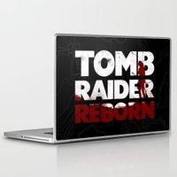 tomb raider Laptop & iPad Skins featuring Tob Raider I. by 187designz