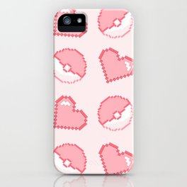 poké hearts iPhone Case