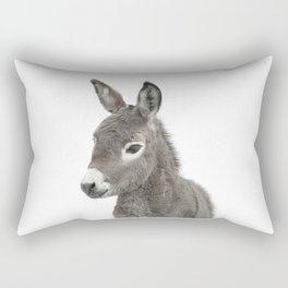 Baby Donkey Rectangular Pillow