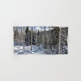 Winter forest - Carol Highsmith Hand & Bath Towel