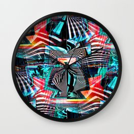 Urban Mutations Wall Clock