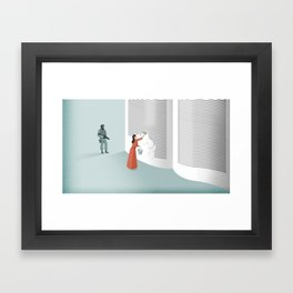 Banned From Literacy Framed Art Print